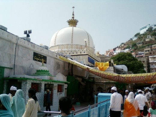 The Dargah of Khawaja Moinuddin Chisti at Ajmer