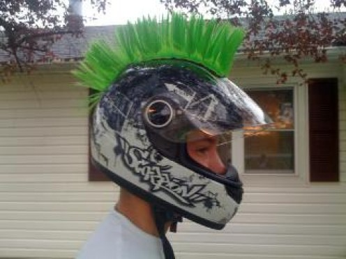 A great helmet can be not only safe,  but a rider's fashion statement!