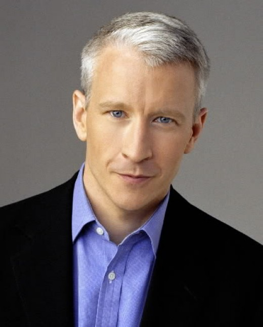 Anderson Cooper ivy league hairstyle.