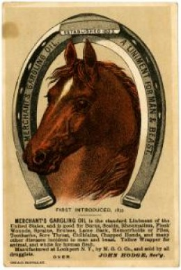 """A Liniment For Man and Beast"""