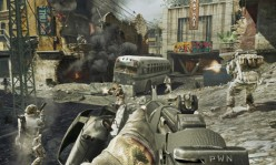 A fellow Black-ops player playing what looks like a Team-deathmatch on 'Cracked'.