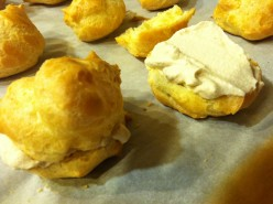 How to Make Fabulous Desserts Using Starbucks Via Instant Coffee: Cream Puffs with Coffee Whipped Cream