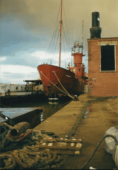 Wallasey docks