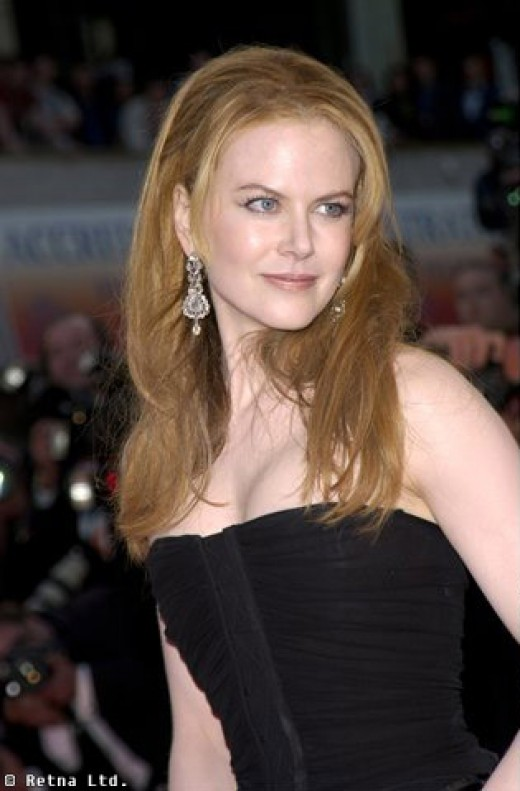Undeniably beautiful ... but can Ms Kidman act?