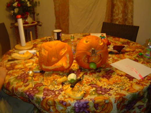 Our Pumpkins from 2007.