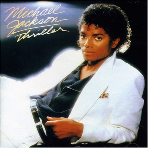 Michael Jackson's Thriller album cover -- Michael Jackson started painkiller addiction at 24, but he survived way past 27.