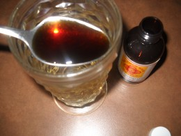 Natural Mexican vanilla extract