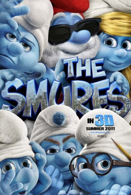 The Smurfs are in the house!