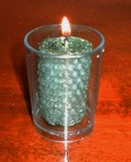 How to Make Rolled Beeswax Votive Honeycomb Candles Step-by-Step