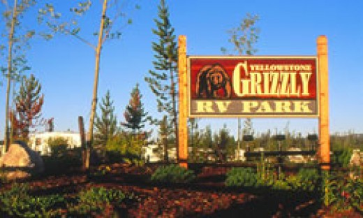 Grizzly RV Campground in West Yellowstone