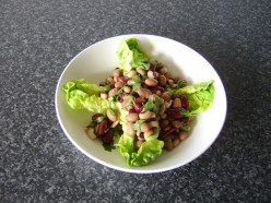 This dish also makes a perfect side salad to perhaps a more substantial Mexican meal