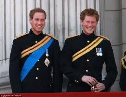 Princes William and Harry of Wales