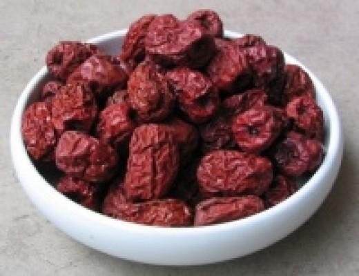 Jujube dried