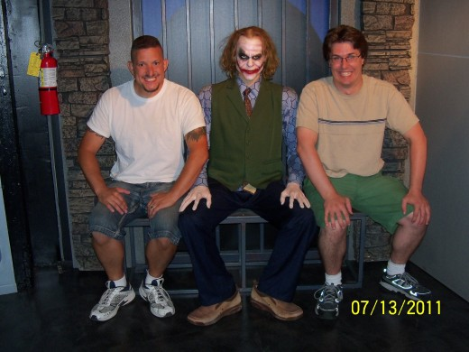 Do you have the joker look. At the Hollywood Wax Museum you can compare smiles!