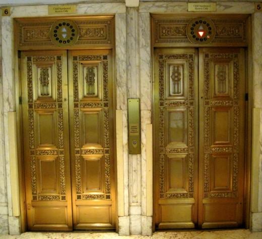 Fancy Gold Elevators