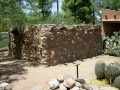 Old Pre-Columbian Artifacts Found in Ancient Besh-Ba-Gowah Arizona Salado Indian Archaelogical Tourist Park Dwellings