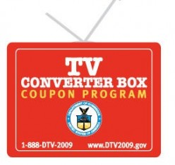 Analog to Digital TV Converter Box Coupon