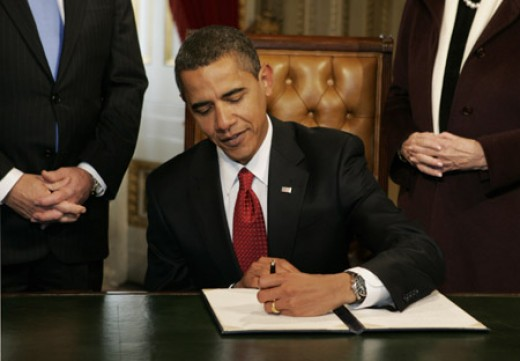 Barack Obama - The Left Handed President