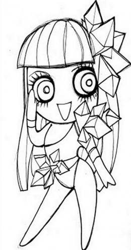 Lady Gaga Coloring Pages Free Colouring Pictures to Print - Cartoon Caricature