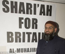 PROUD CHOUDARY, WANTS TO FLY FLAG OF ISLAM OVER THE WHITE HOUSE
