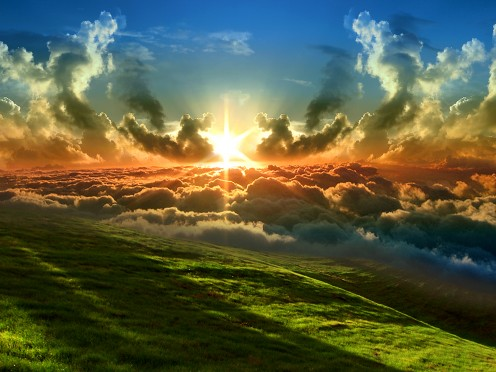 Then I saw a new heaven and a new earth... (Revelation 21:1)