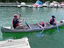 Canoe Trip Coulter Bay Marina