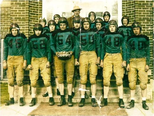 South Dakota State Six-Man Football Champs of 1947