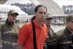 David Murcia Guzman, being extradited from Panama to Colombia for pyramid scheme