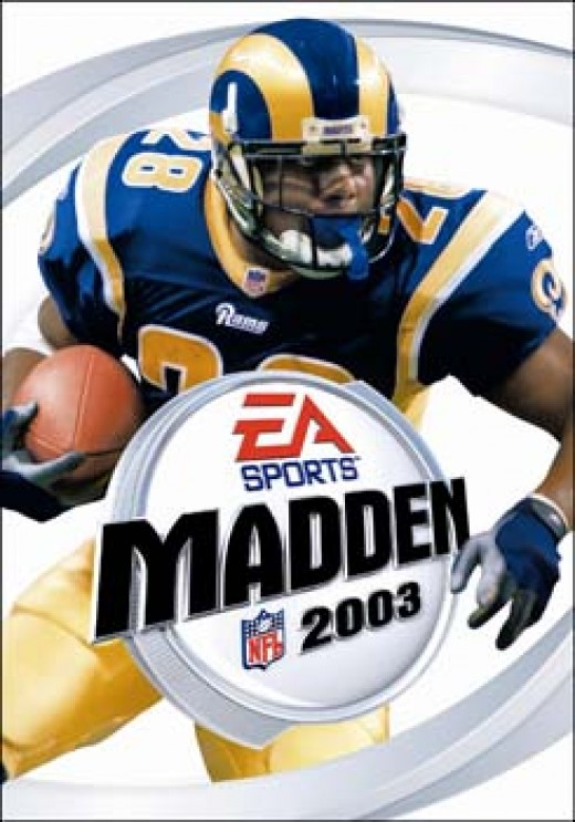 Marshall Faulk Madden cover 2003
