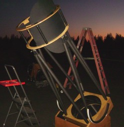 Another view of Alvin's 25-inch Dobsonian