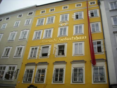 Mozarts Birthplace, Salzburg, Austria
