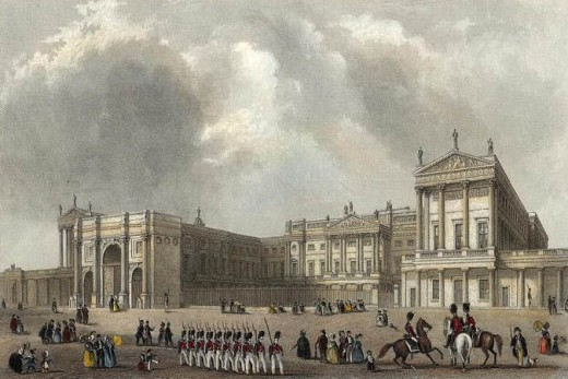 Buckingham Palace in 1837