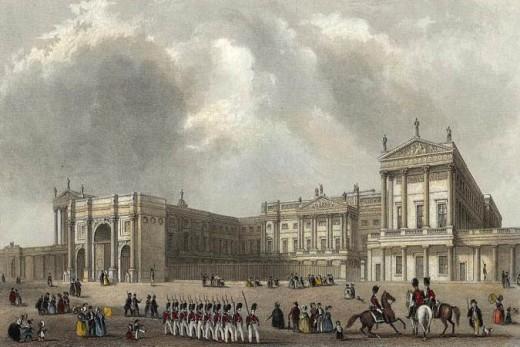 Buckingham Palace in 1837