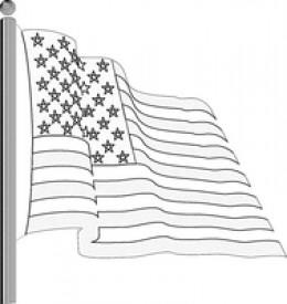 In color or black and white, it stands for the same thing, our FREEDOMS.