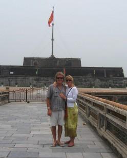 The Citadel at Hue, Vietnam