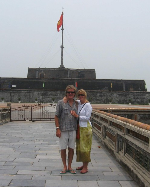 The Citadel at Hue, Vietnam