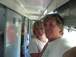 on the night train to Saigon, 2006
