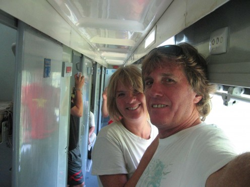 on the night train to Saigon, 2006
