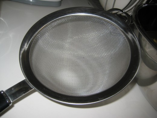 This sieve is a tremendous helper.
