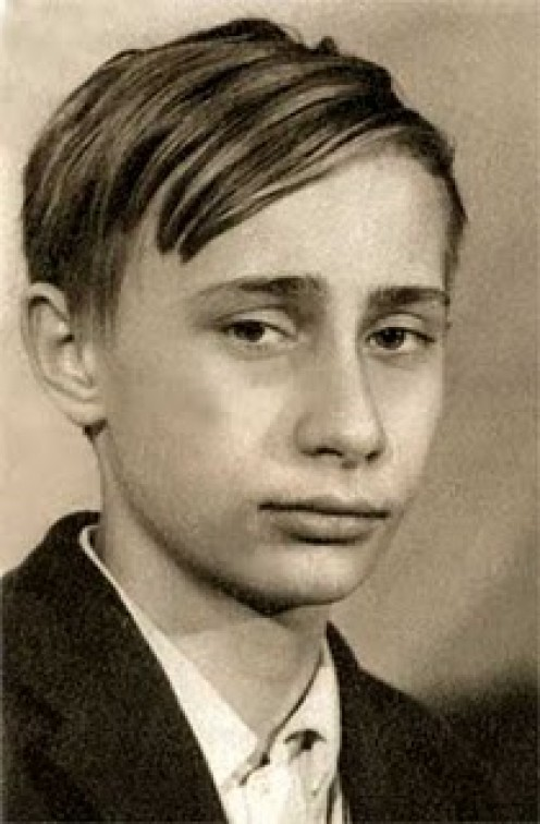 Putin destroyed his school-yard bullies later in life.