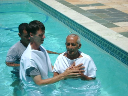 Scriptural Baptism:  The Commitment of Believers.