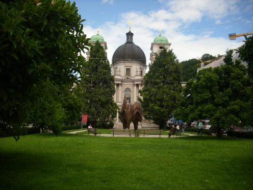 Dreifaltigkeitskirche ( Holy Trinity Church),Salzburg, Austria