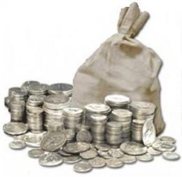 90% U.S. Silver Coin Bags