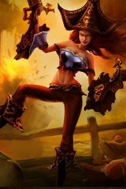 League of Legends - Tips for Playing Miss Fortune, the Bounty Hunter