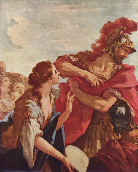 Public Domain - 18th C. See: http://en.wikipedia.org/wiki/File:Giovanni_Antonio_Pellegrini_001.jpg