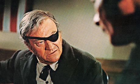 John Wayne in the original True Grit