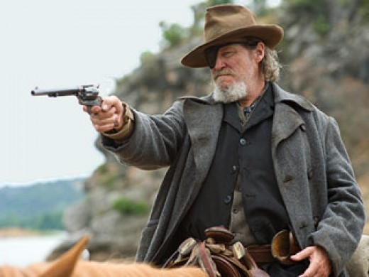 Jeff Bridges in the remake of True Grit