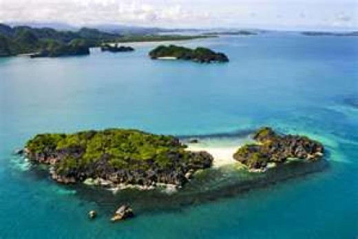 Caramoan beaches and islands in Camarines Sur