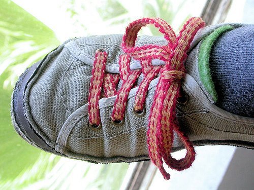 Shoelace by sand dragon, on Flickr