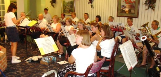Exeter Community Band in concert